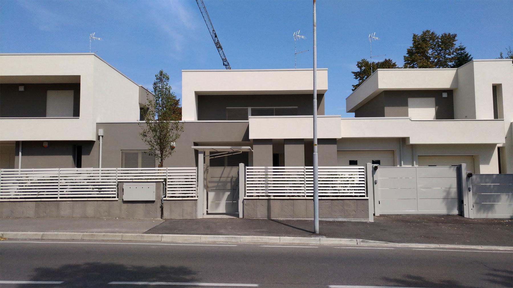 Studio di architettura fangareggi castelli tre ville a for Progetto ville moderne nuova costruzione
